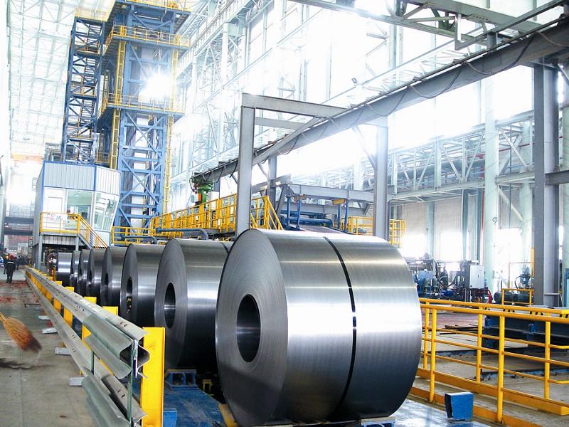 镀铝锌生产线